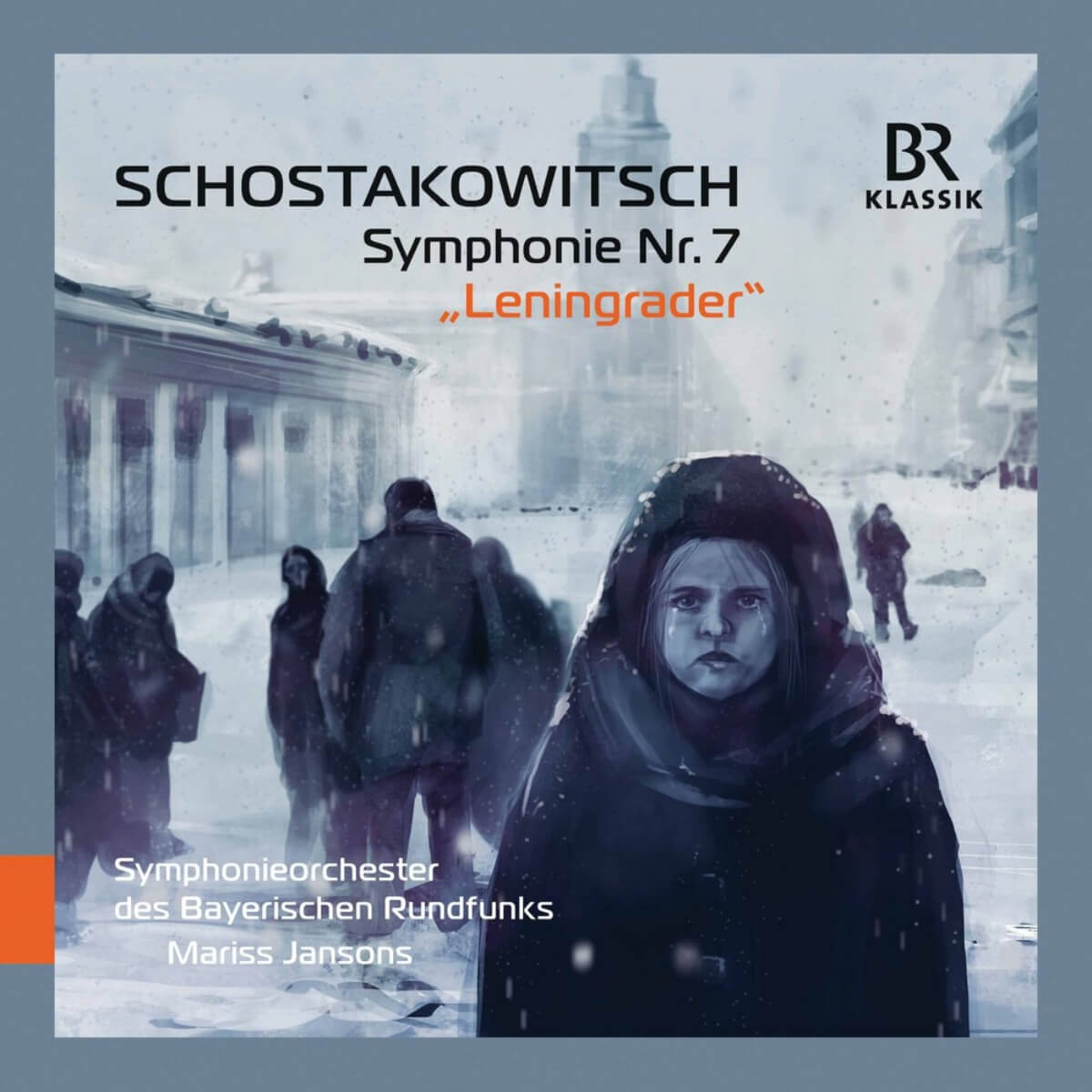Mariss Jansons et l'Orchestre symphonique de la radio bavaroise dans la Symphonie no 7 de Chostakovitch.
