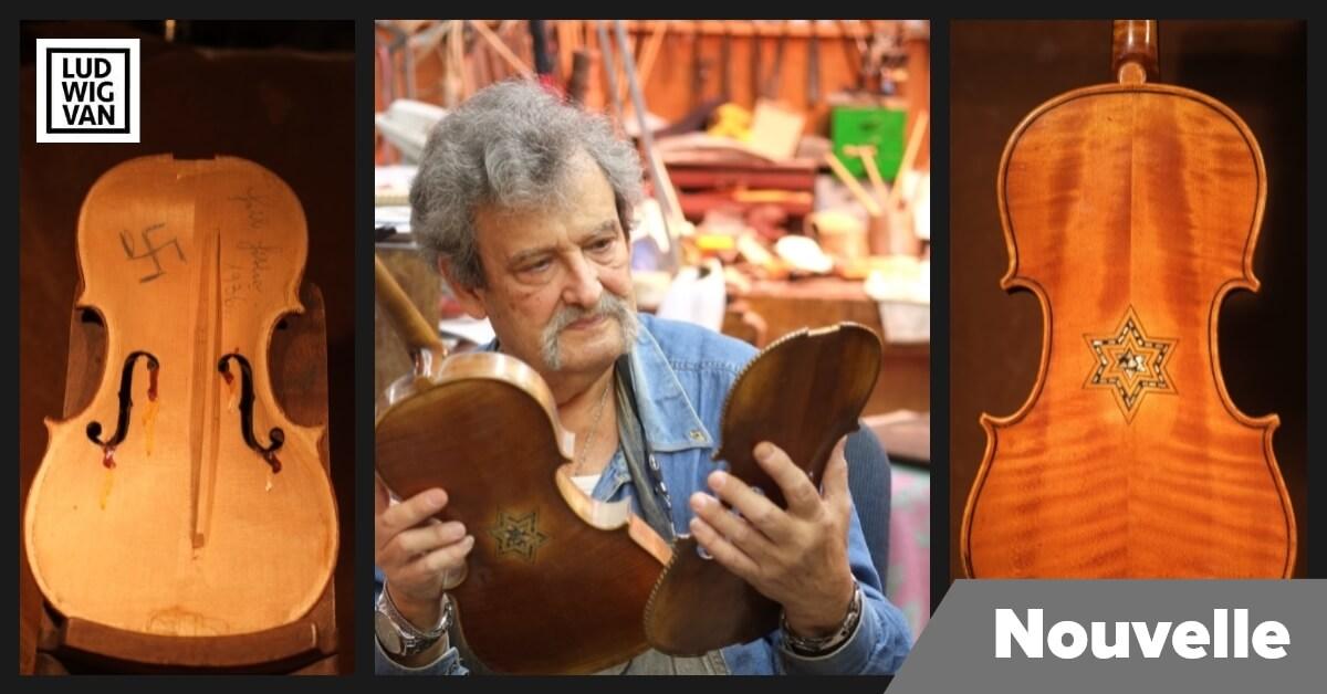 Amnon Weinstein, luthier