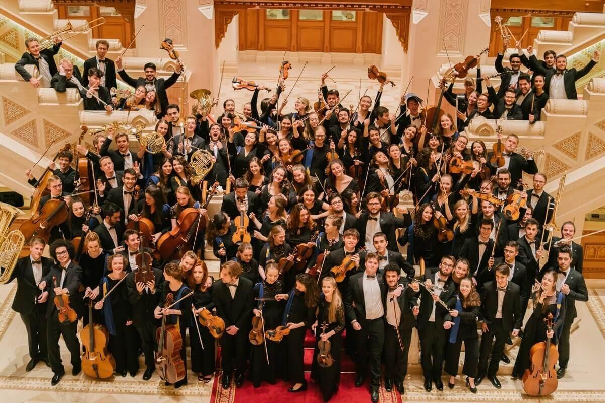 EUYO, Orchestre des jeunes de l'Union européenne, à la Royal Opera House d'Oman