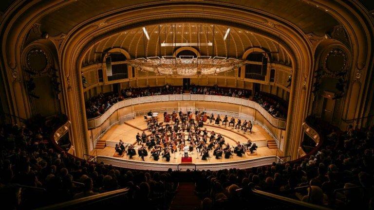 L'Orchestre Métropolitain au Chicago Symphony Hall. (Photo: François Goupil)
