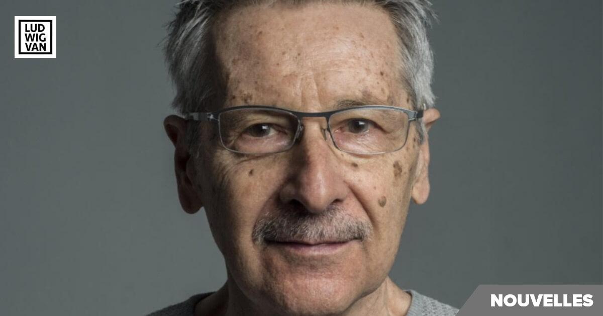 José Evangelista, compositeur (Photo: Justine Latour)