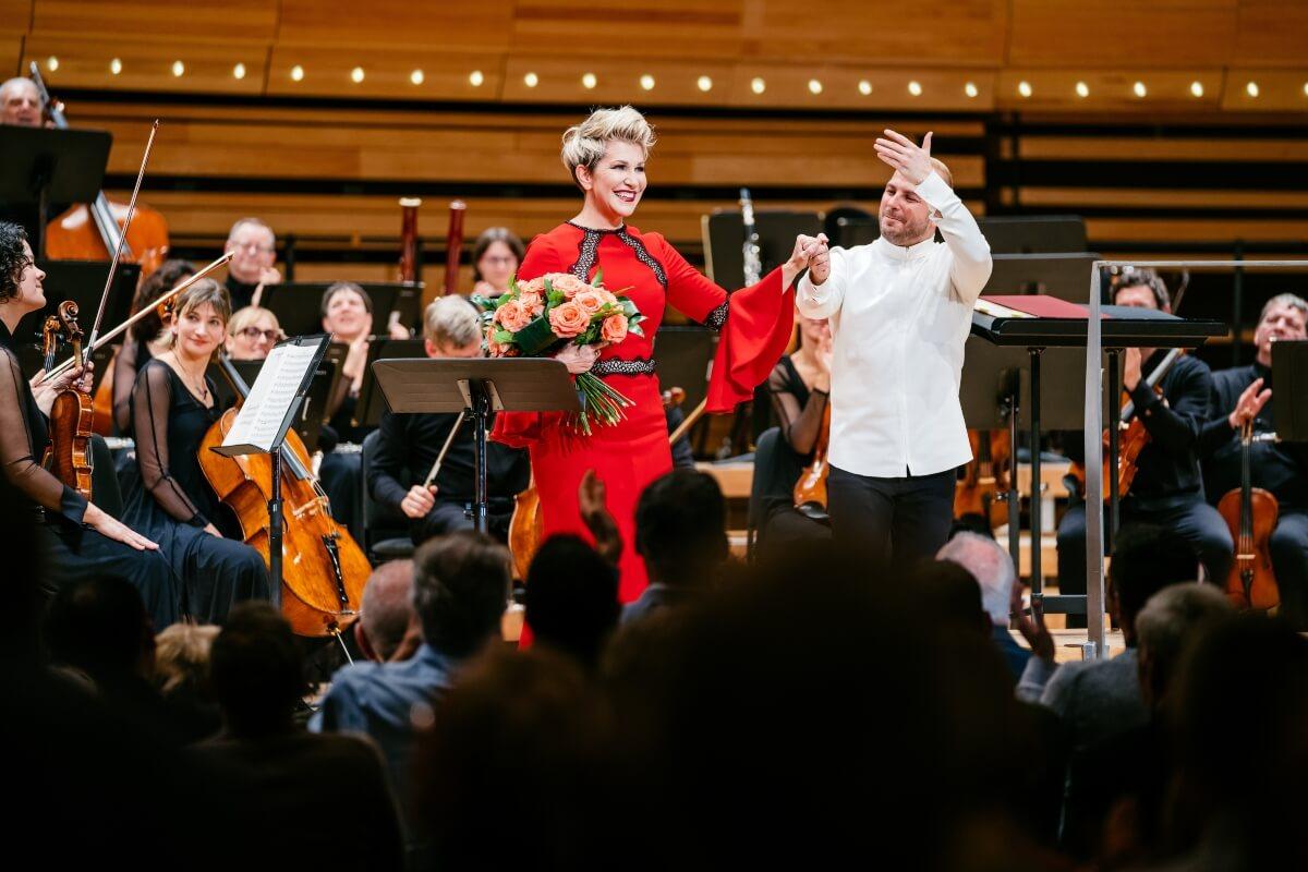 Joyce DiDonato acclamée par le public, concert du 17 novembre 2019 avec l'Orchestre Métropolitain et Yannick Nézet-Séguin