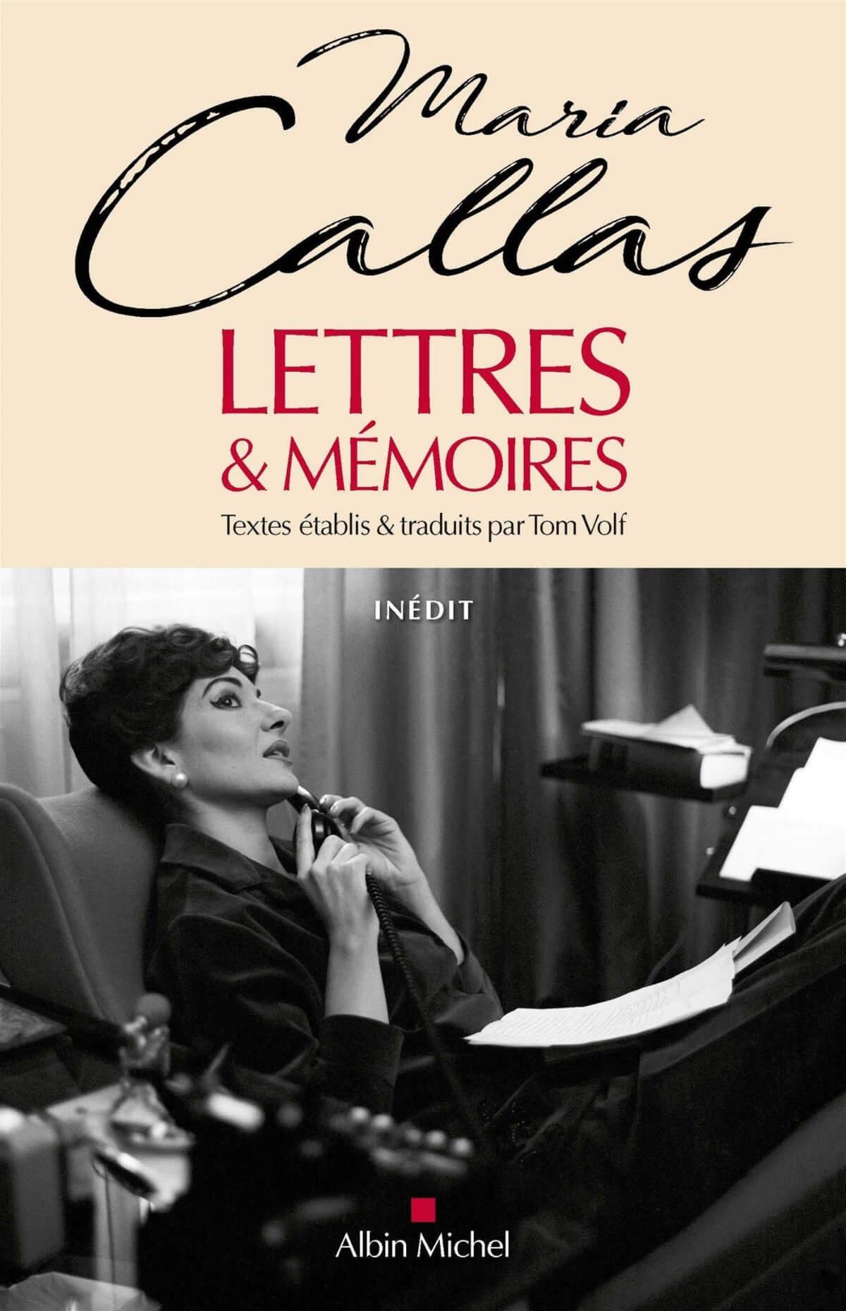 couverture du livre Callas : Lettre et mémoires de Tom Volk