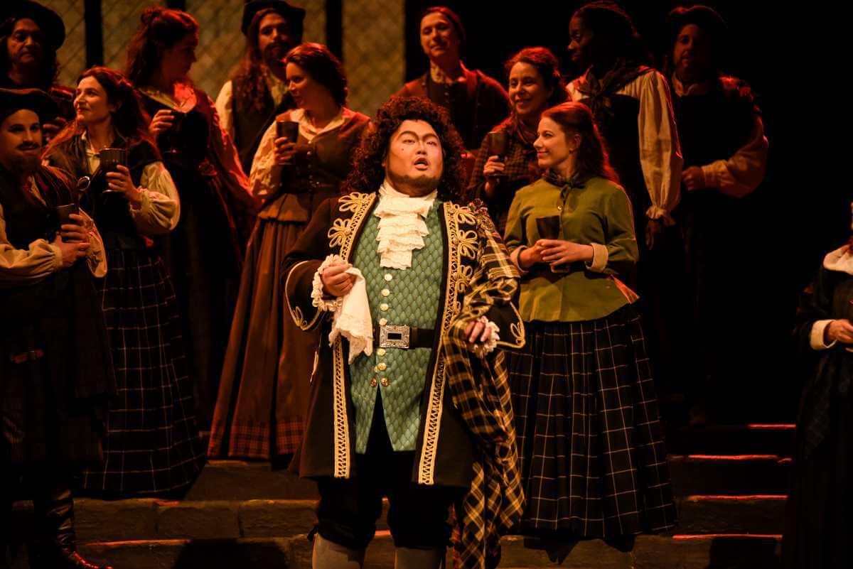 Mario Bahg, ténor, Lucia di Lammermoor, Opéra de Montréal, novembre 2019. (Photo: Yves Renaud)
