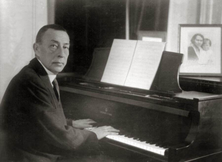 Rachmaninov, Steinway piano