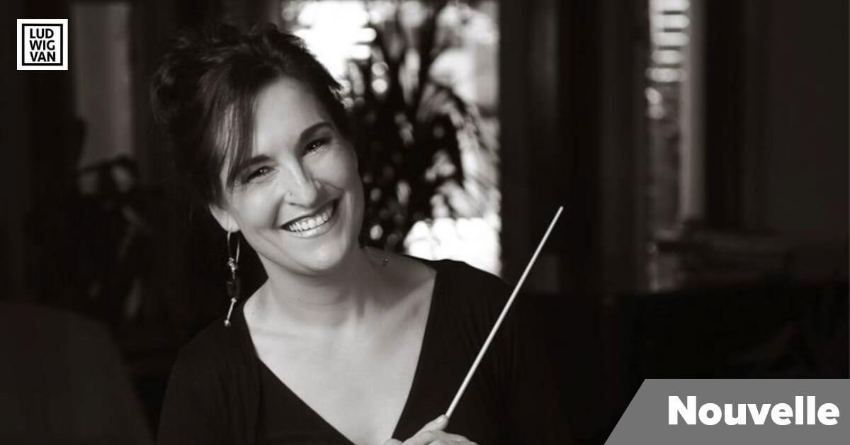 Roseline Blain, chef de chœur et nouvelle directrice artistique de l'Ensemble Musica Orbium (Photo: Benoit Champagne)