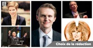 mosaïque : Isabelle Faust, Patrick Wedd, Mark Edwards, Louis Lavigueur, Frédérike Bédard