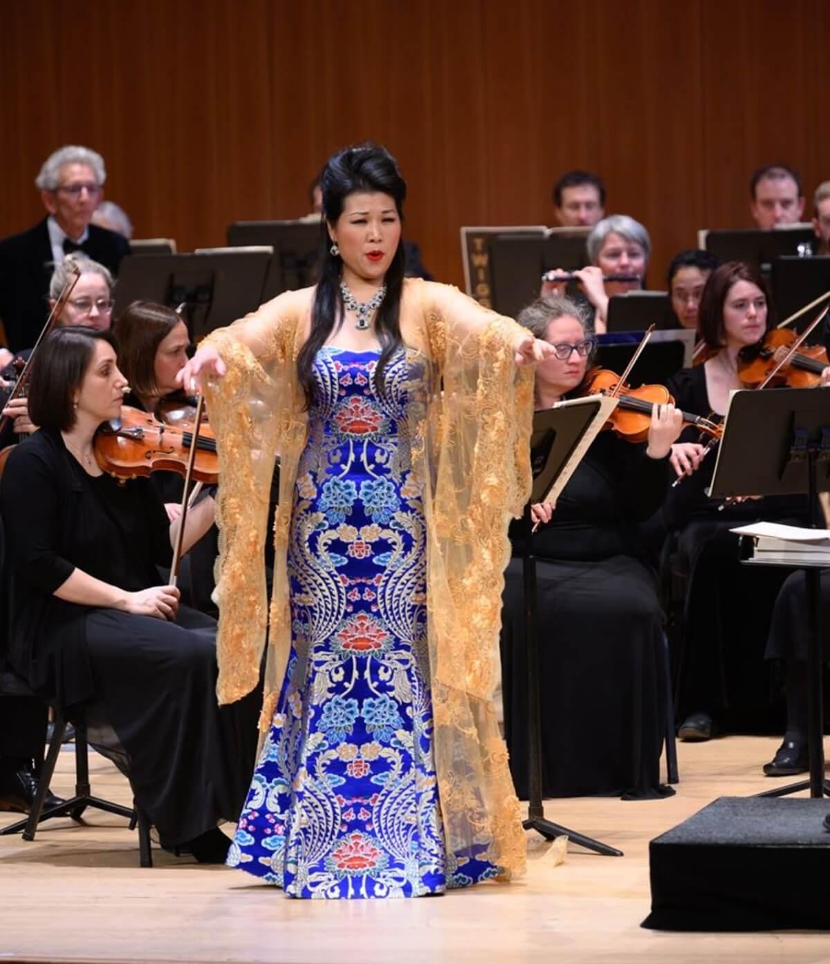 Chunqing Zhang en Turandot (Photo : André Chevrier)