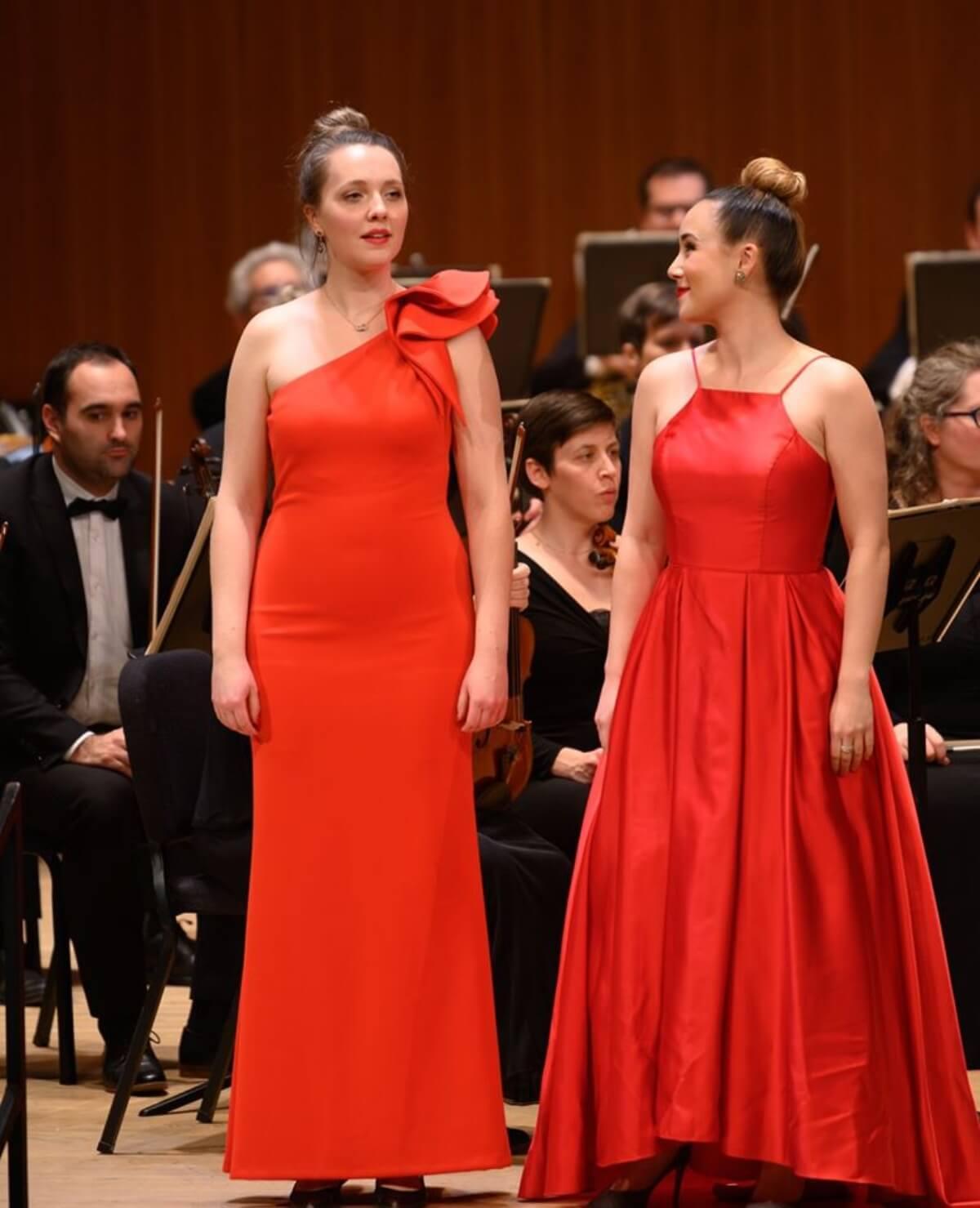 Emma Mansell et Andréa Nunez, 26e Gala des ambassadeurs lyriques (Photo : André Chevrier)