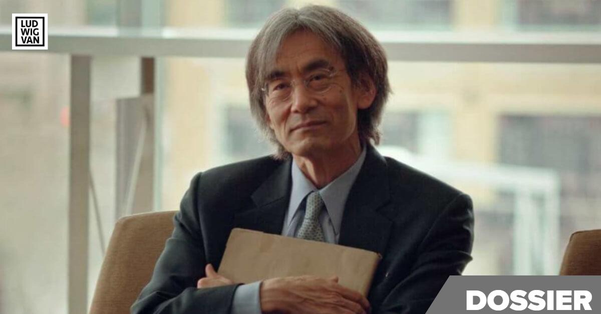 Kent Nagano lors de la conférence de presse au sujet de la sortie du documentaire Chaakapesh.