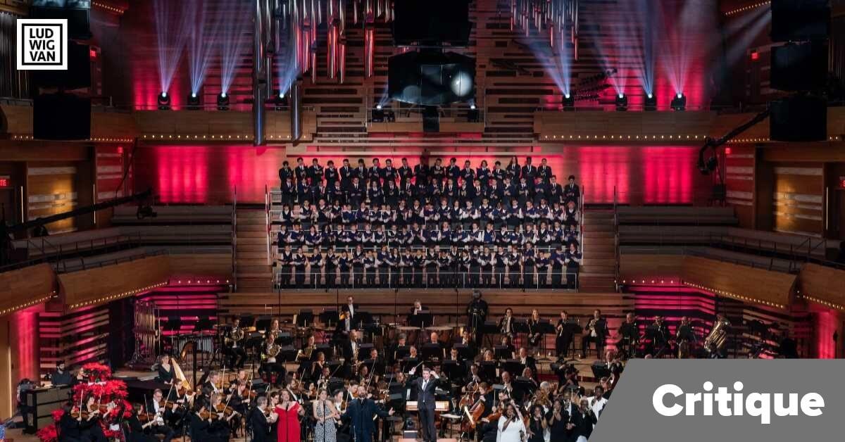 Concert de Noël de l'OSM, 17 décembre 2019, Maison symphonique de Montréal. (Photo: Antoine Saito, Orchestre symphonique de Montréal)