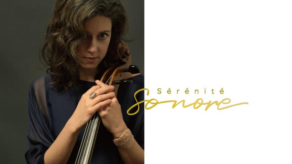 Elinor Frey, violoncelliste, pour Bach en hamacs de Sérénité sonore