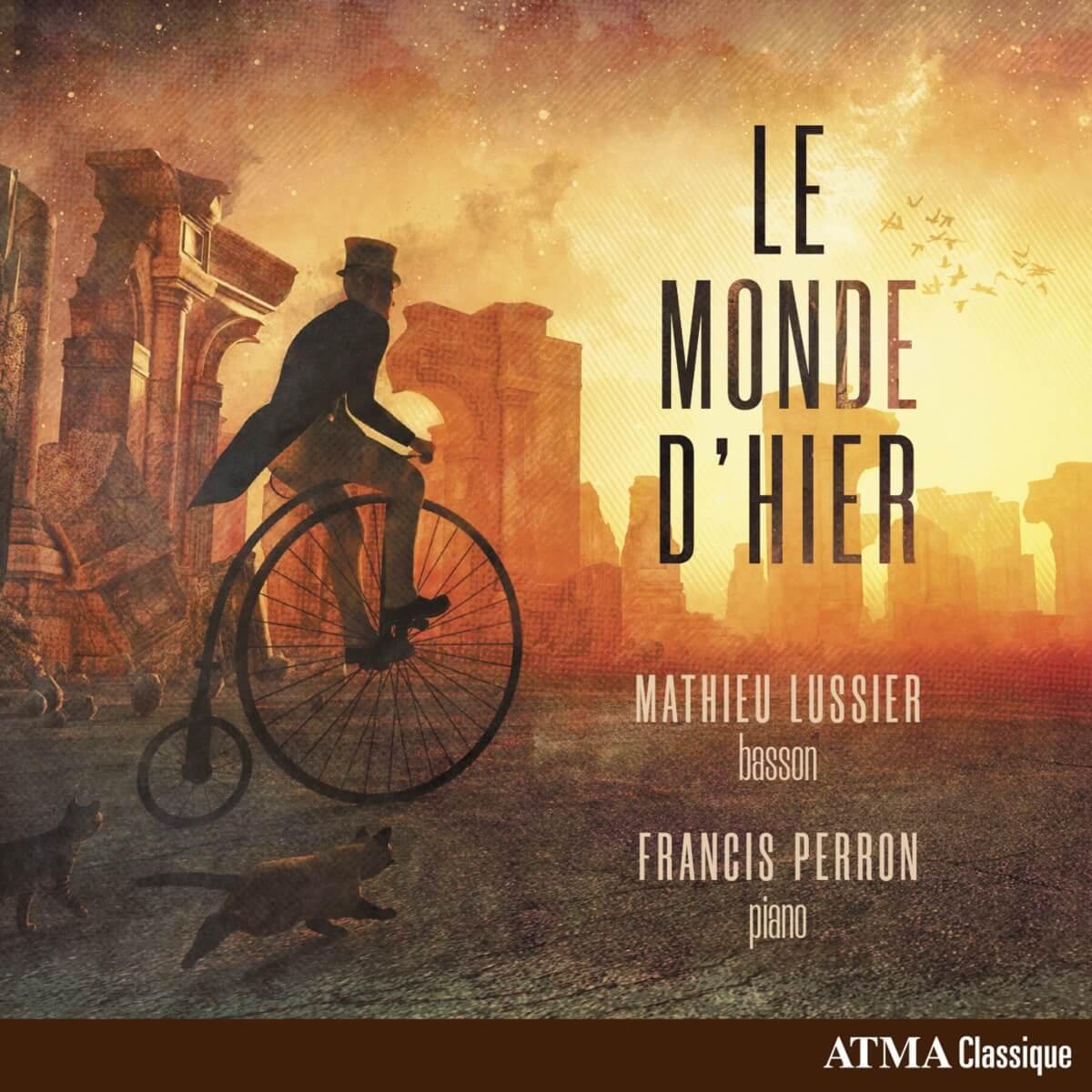 couverture CD Le Monde d'hier de Mathieu Lussier et Francis Perron