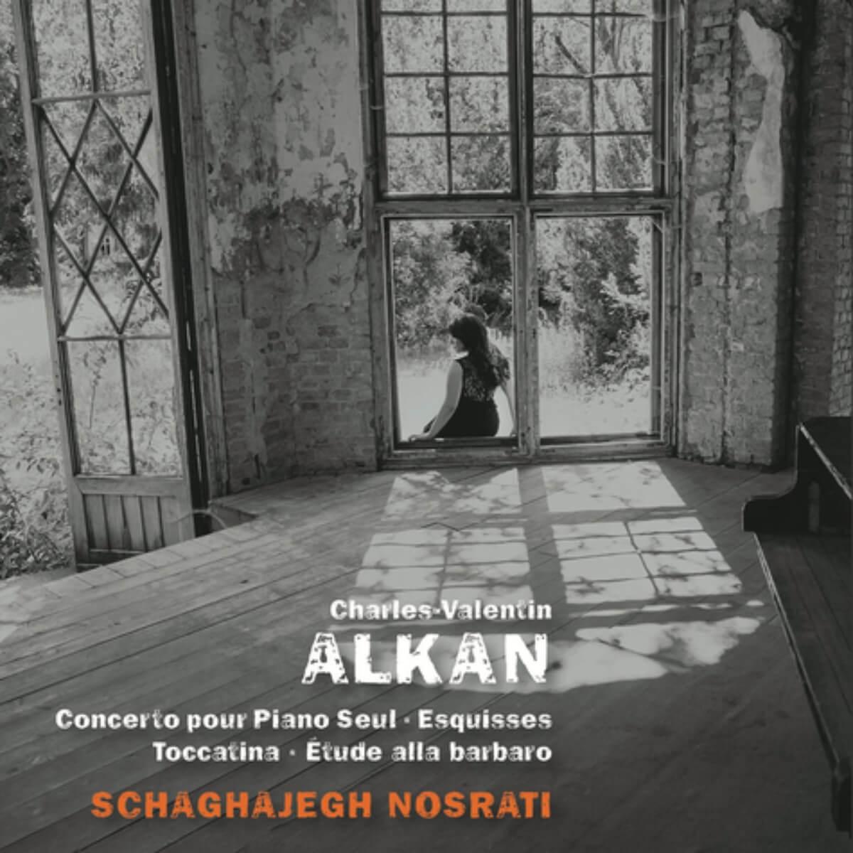 couverture du disque de Schagajegh Nosrati : Charles-Valentin Alkan