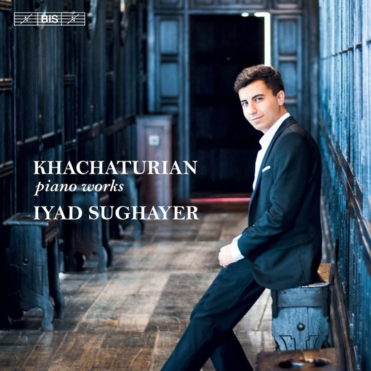 couverture du disque d'Iyad Sughayer, Khatchaturian : Piano Works