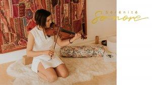 violoniste Eliza Moore, Rêve de mer, Sérénité sonore