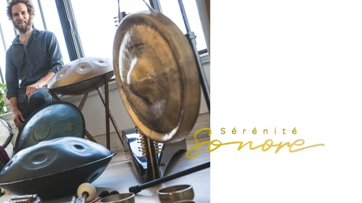Pierre-Olivier Bolduc, atelier de relaxation pour Sérénité sonore