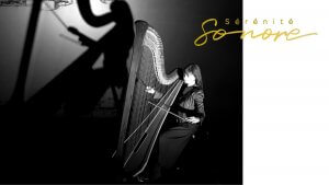 Sarah Pagé, harpiste, concert Sérénité sonore