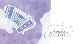 dessin d'accordéon, doudou sonore de Sérénité sonore, concert famille