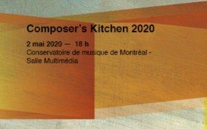 visuel du Composer's Kitchen du Quatuor Bozzini