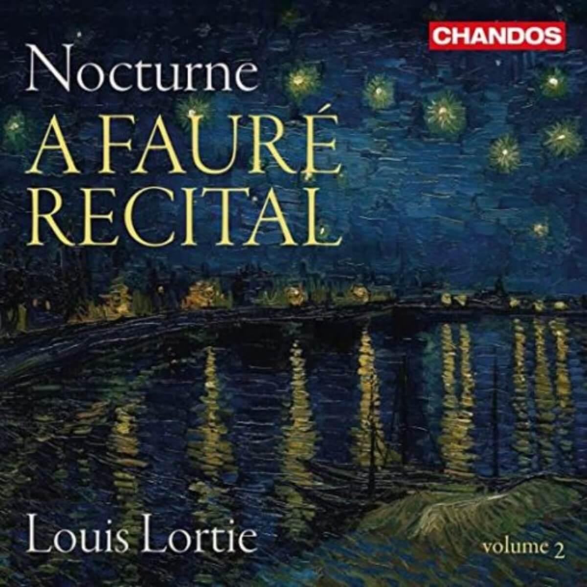 couverture de l'album Nocture A Fauré Recital de Louis Lortie