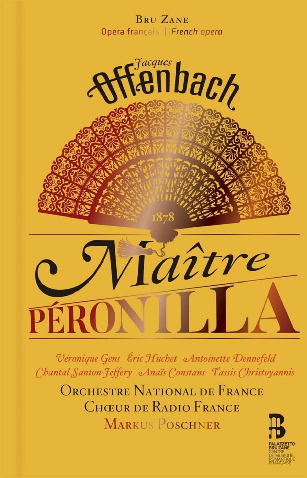couverture Maître Peronilla Offenbach