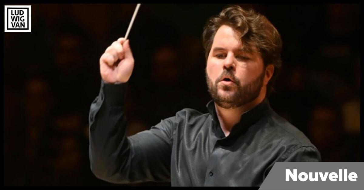 Simon Rivard, chef d'orchestre. (Photo: courtoisie du TSO)