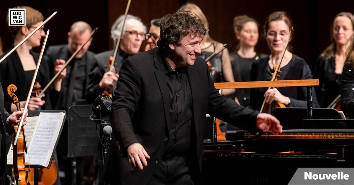 Alain Trudel, chef et directeur artistique de l'Orchestre symphonique de Laval. (Photo: courtoisie de l'OSL)