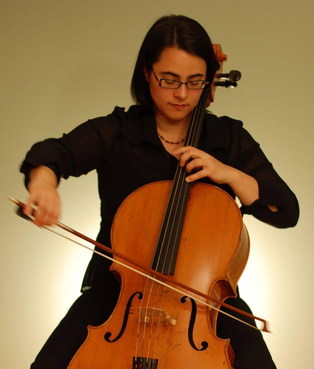 Caroline Richard, violoncelliste. (Photo: courtoisie)