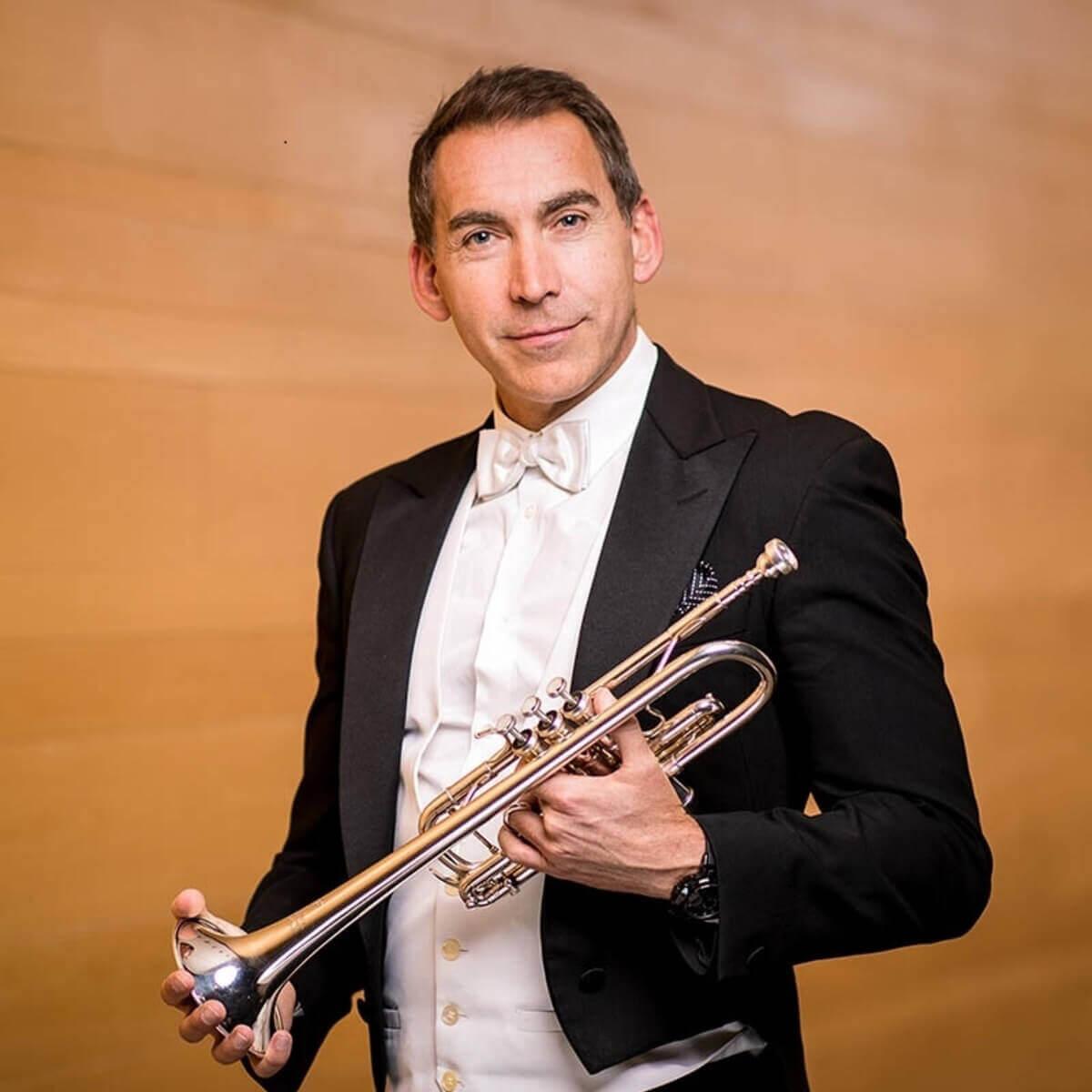 Paul Merkelo, trompette solo de l'OSM et membre du jury du Concours OSM. (Photo: fournie par l'artiste)