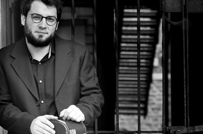 Bruno Gauthier-Bellerose, guitariste. (Photo: courtoisie de Pro Musica)