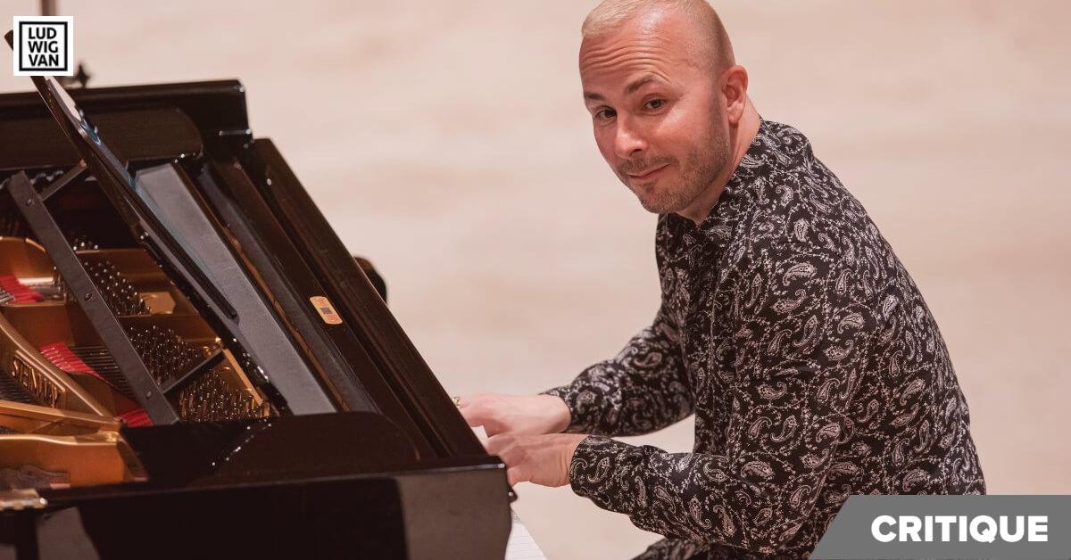 Yannick Nézet-Séguin faisait ses débuts comme soliste avec l'OM, le 11 avril 2021. (Photo: Antoine Saito)
