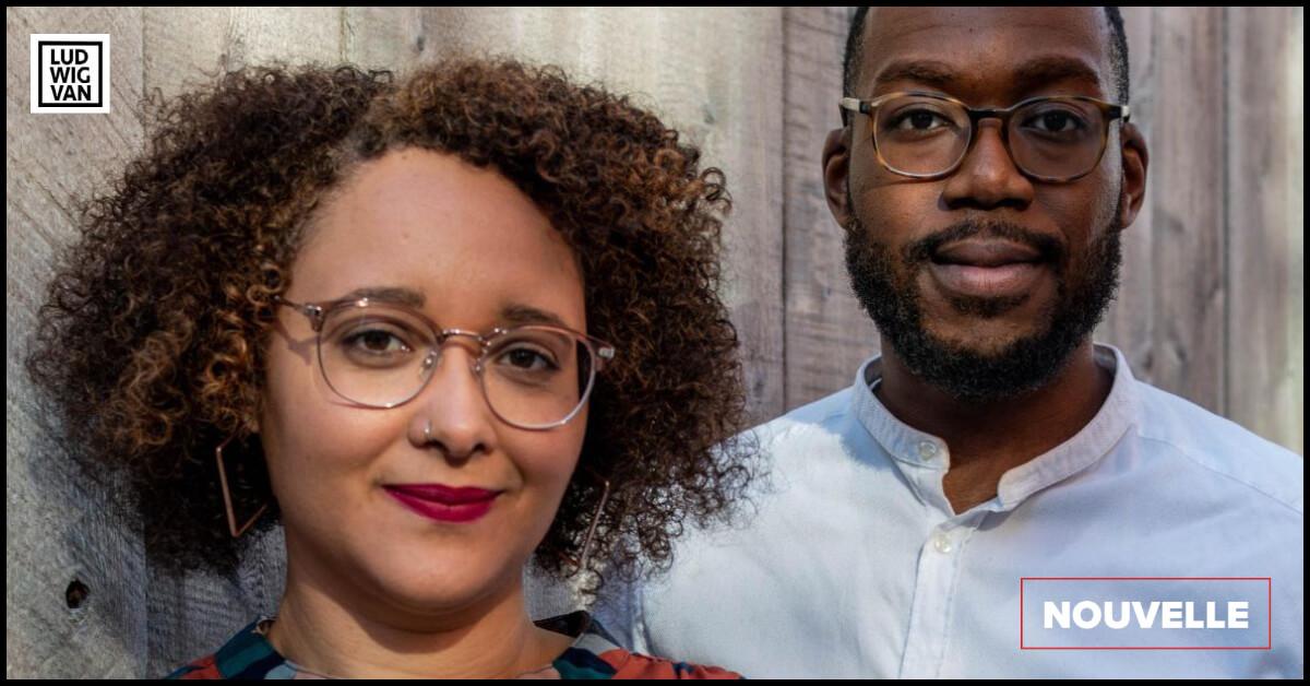 Allison Migeon et Brandyn Lewis, cofondateurs de l'Ensemble Obiora. (Photo: Miet Verhauwaert)
