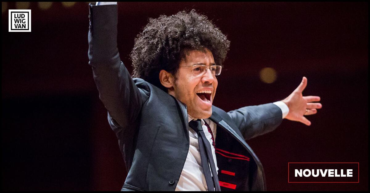 Rafael Payare, directeur musical de l'Orchestre symphonique de Montréal. (Photo: Antoine Saito)
