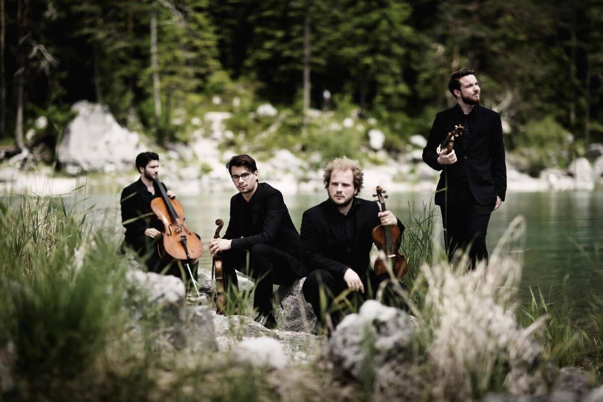 Le Goldmund Quartett (Photo: Nikolai Lund)