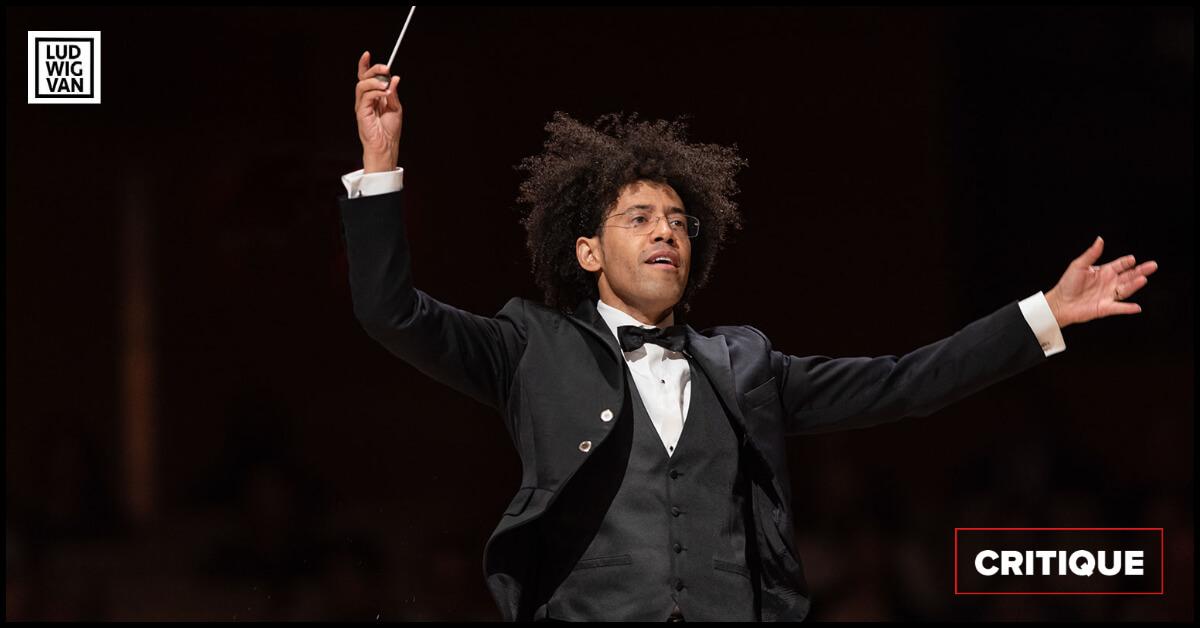 Rafael Payare, concert inaugural de l'OSM, 14 septembre 2021, Maison symphonique. (Photo: Antoine Saito