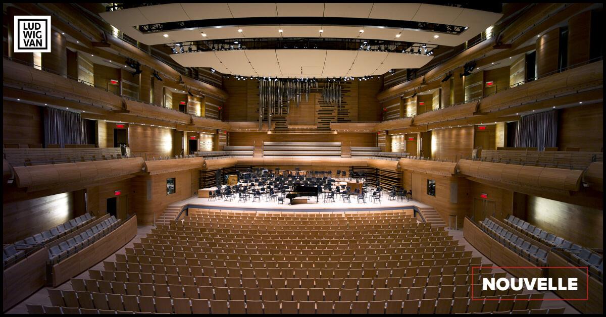 La Maison symphonique de Montréal a dix ans. (Photo: Bernard Fugère)