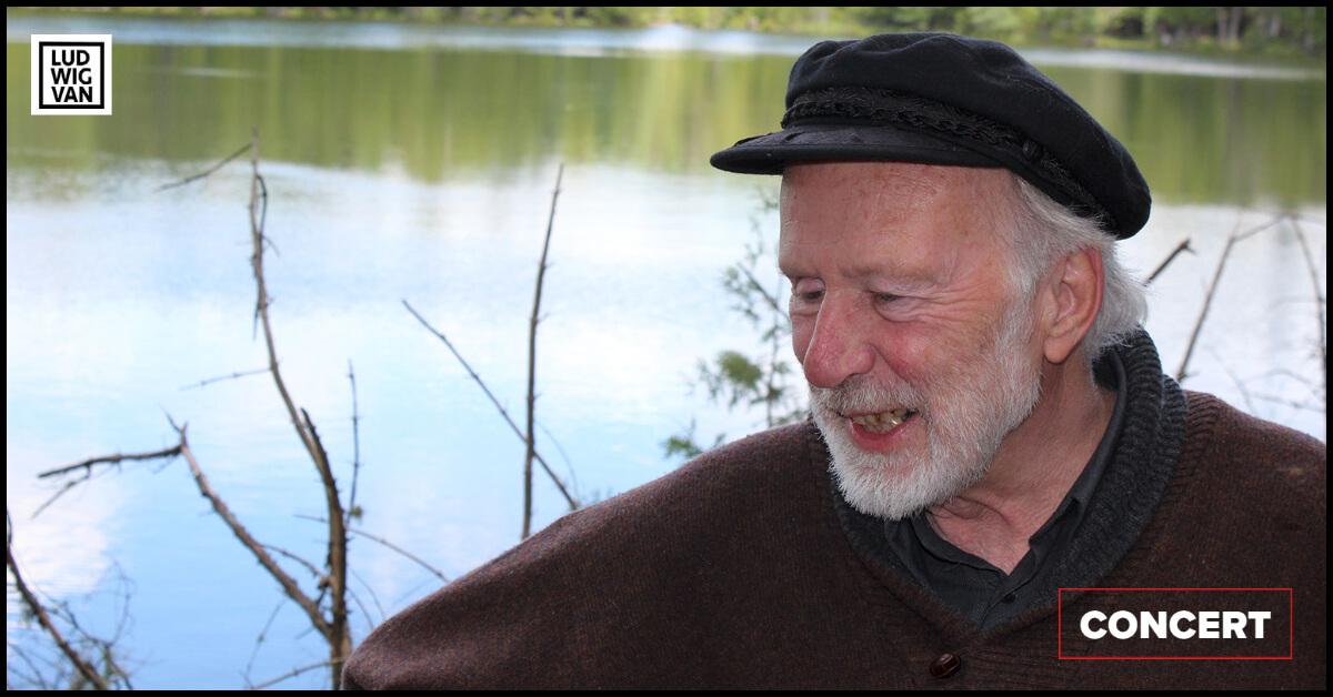 R. Murray Schafer (1933-2021). (Photo: courtoisie du Quatuor Molinari)