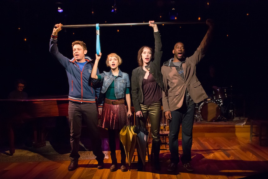 Dmitry Chepovetsky, Bree Greig, Selina Martin and Daren A. Herbert in Craigslist Cantata.