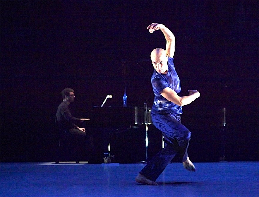 Dancer Sean Ling and pianist John Kameel Farah are part of a free lunchtime performance on Tuesday (John Lauener photo).
