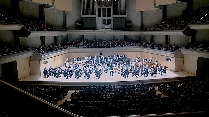 The Vienna Philharmonic at Roy Thomson Hall on Wednesday night (John Terauds photo).
