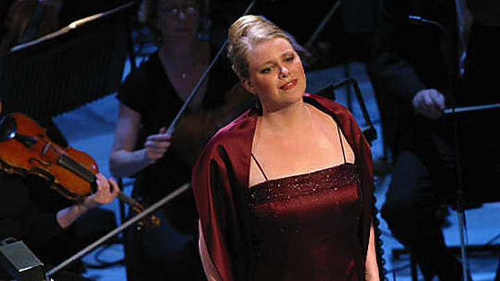 Soprano Erin Wall, far better known outside Toronto, sings art song with John Hess on Thursday night.