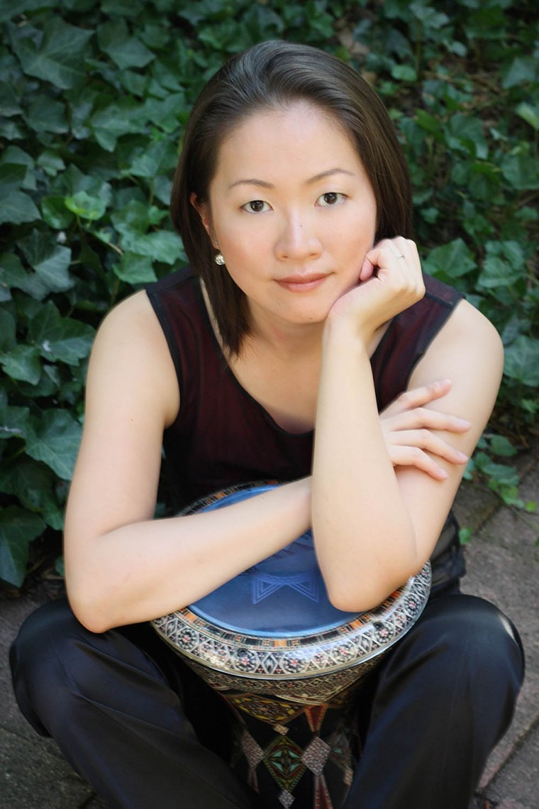 Haruka Fuji's marimba skills were an inspiration to composer Michael Oesterle.