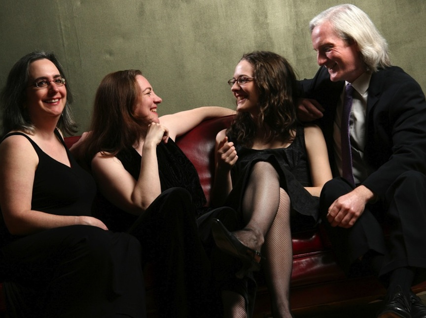 The Windermere String Quartet -- Rona Goldensher, Elizabeth Loewen, Laura Jones and Anthony Rapoport -- are joined by violist Emily Eng on Sunday afternoon.