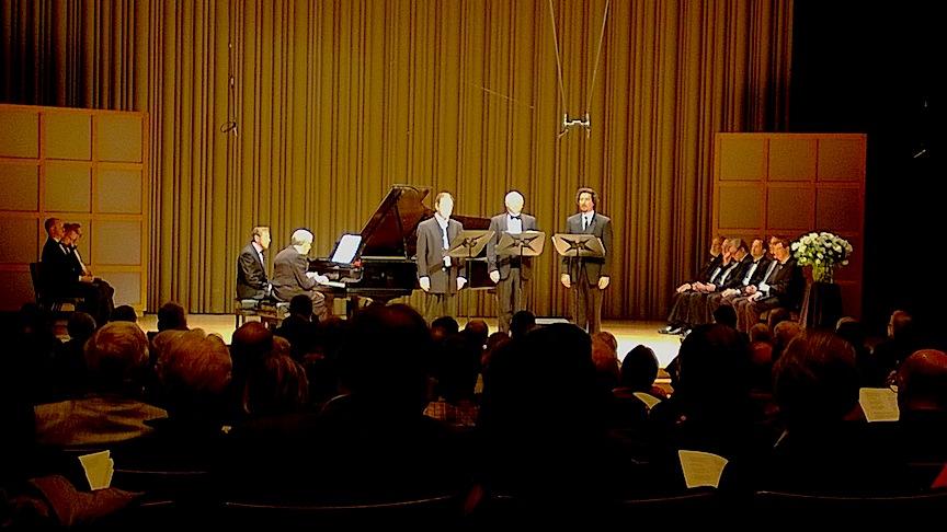 Aldeburgh Connection art song concert alumni at the organization's 30th anniversary gala last season at Koerner Hall.