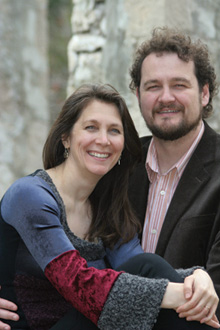 Russell Braun and acocmpanist wife Carolyn Maule.