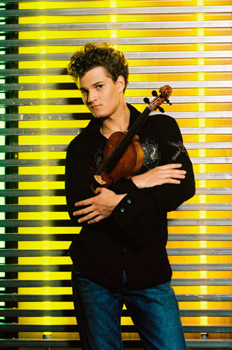 Violinist Alexandre Da Costa