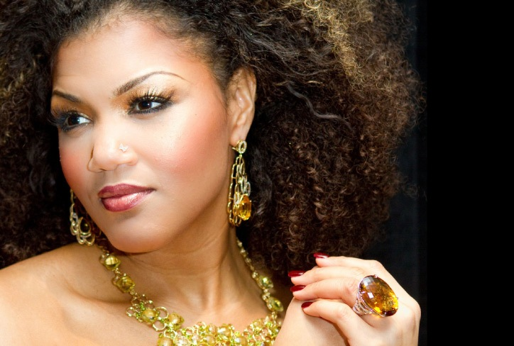 Measha Brueggergosman joins the Toronto Symphony Orchestra on Thursday and saturday nights (Alex Gardner photo).