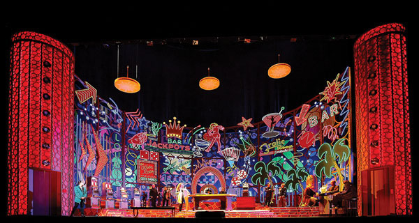 Michael Meyer's las vegas-set Rigoletto at the Met earlier this season (Metropolitan Opera photo).