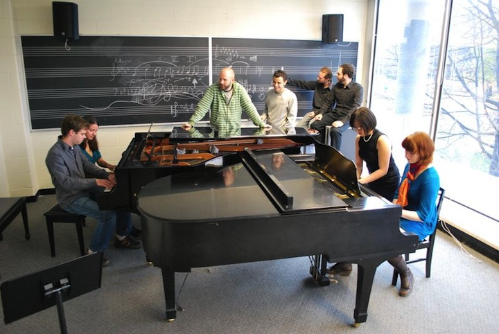 The Toy Piano Composers and friends celebrate an anniversary on Saturday.